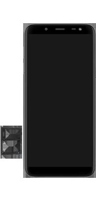 Samsung Galaxy J6 - Primeiros passos - Como inserir o chip da Nextel no seu celular - Etapa 7