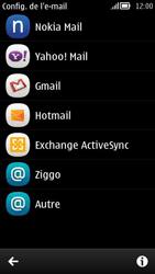 Nokia 808 PureView - E-mail - Configuration manuelle - Étape 5