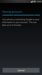 HTC One - Applications - Create an account - Step 21