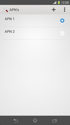Sony D5503 Xperia Z1 Compact - Internet - Handmatig instellen - Stap 17