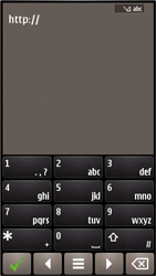 Nokia E7-00 - Internet - hoe te internetten - Stap 4