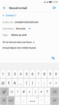 Huawei Mate 9 Pro - E-mail - Envoi d