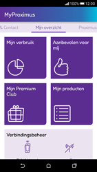 HTC Desire 626 - Applicaties - MyProximus - Stap 16