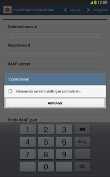 Samsung T315 Galaxy Tab 3 8-0 LTE - E-mail - Account instellen (IMAP zonder SMTP-verificatie) - Stap 10