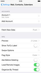 Apple iPhone 6 Plus iOS 8 - Email - Manual configuration - Step 29
