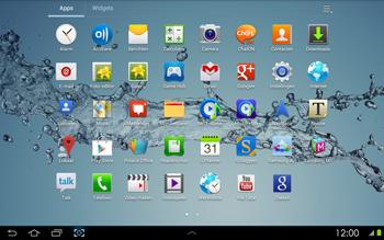 Samsung P5100 Galaxy Tab 2 10-1 - Internet - aan- of uitzetten - Stap 3