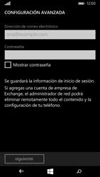 Microsoft Lumia 535 - E-mail - Configurar correo electrónico - Paso 7