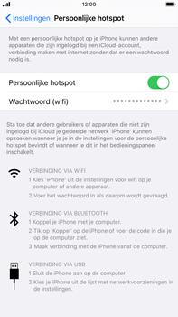 Apple iphone-6s-plus-met-ios-13-model-a1687 - WiFi - Mobiele hotspot instellen - Stap 8