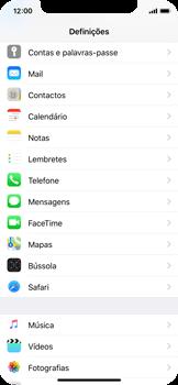 Apple iPhone X - Aplicações - Como gerir permissões da aplicação -  3