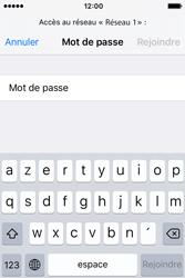 Apple iPhone 4 S iOS 9 - WiFi et Bluetooth - Configuration manuelle - Étape 6