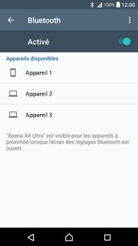 Sony F3211 Xperia XA Ultra - WiFi et Bluetooth - Jumeler votre téléphone avec un accessoire bluetooth - Étape 6