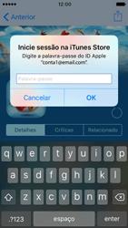Apple iPhone SE iOS 10 - Aplicações - Como pesquisar e instalar aplicações -  16