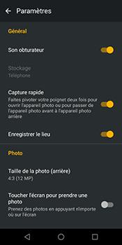 Motorola Moto G6 - Photos, vidéos, musique - Prendre une photo - Étape 10