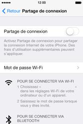 Apple iPhone 4S - Internet et connexion - Utiliser le mode modem par USB - Étape 5