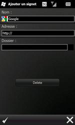Samsung I8000 Omnia II - Internet - navigation sur Internet - Étape 7