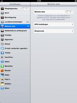 Apple The New iPad - Internet - Uitzetten - Stap 5