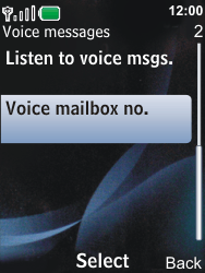 Nokia 6600i slide - Voicemail - Manual configuration - Step 5