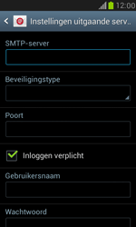 Samsung I8190 Galaxy S III Mini - E-mail - Handmatig instellen - Stap 11
