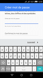 Huawei Y6 II Compact - Applications - Créer un compte - Étape 12