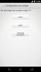 Sony C6903 Xperia Z1 - E-mail - Configuration manuelle - Étape 7