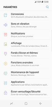 Samsung Galaxy S8 - Bluetooth - connexion Bluetooth - Étape 6