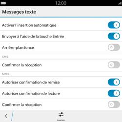 BlackBerry Passport - Mms - Configuration manuelle - Étape 7