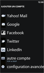 Samsung I8350 Omnia W - E-mail - Configurer l
