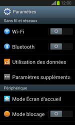 Samsung Galaxy Express - Internet et connexion - Désactiver la connexion Internet - Étape 4