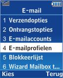 Samsung E2370 Megacell - E-mail - Handmatig instellen - Stap 7