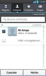 LG Optimus L5 II - Mensajería - Escribir y enviar un mensaje multimedia - Paso 7