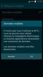 Samsung Galaxy Alpha - Internet et connexion - Désactiver la connexion Internet - Étape 7