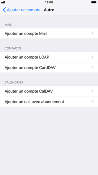 Apple iPhone 7 Plus - iOS 12 - E-mail - Configuration manuelle - Étape 6