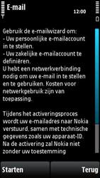 Nokia X6-00 - E-mail - Handmatig instellen - Stap 9