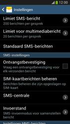 Samsung C105 Galaxy S IV Zoom LTE - SMS - Handmatig instellen - Stap 6