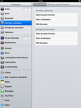 Apple iPad mini - Internet - configuration manuelle - Étape 7