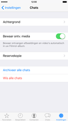 Apple iPhone 6 iOS 9 - WhatsApp - Backup WhatsApp chats - Stap 6