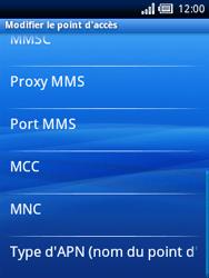 Sony Ericsson Xperia X10 Mini - Mms - Configuration manuelle - Étape 10