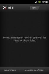 Sony ST23i Xperia Miro - Wifi - configuration manuelle - Étape 4