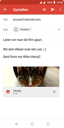 Wiko Harry 2 - E-mail - e-mail versturen - Stap 14
