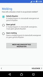 Sony Xperia X Performance (F8131) - E-mail - Handmatig instellen (outlook) - Stap 11