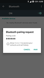 Alcatel Shine Lite - WiFi and Bluetooth - Setup Blue Tooth Pairing - Step 7