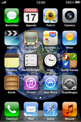 Apple iPhone 3G S met iOS 5 - Buitenland - Bellen, sms en internet - Stap 1