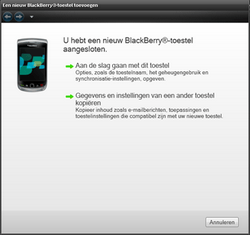 BlackBerry 9300 Curve 3G - Software - Update installeren via PC - Stap 15