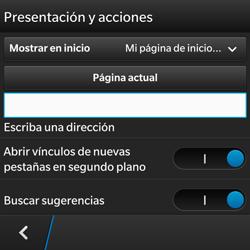 BlackBerry Q5 - Internet - Configurar Internet - Paso 19
