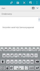 Samsung I9195i Galaxy S4 mini VE - E-mail - Hoe te versturen - Stap 5
