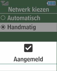 Samsung E1270 - Buitenland - Bellen, sms en internet - Stap 8