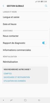 Samsung Galaxy S9 Plus - Appareil - Réinitialisation de la configuration d