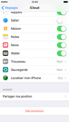 Apple iPhone 6 iOS 10 - Device maintenance - Back up - Étape 10