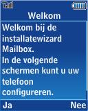 Samsung E2370 Megacell - E-mail - Handmatig instellen - Stap 11