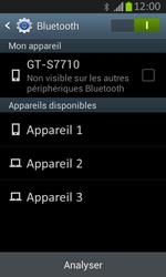Samsung S7710 Galaxy Xcover 2 - Bluetooth - connexion Bluetooth - Étape 8